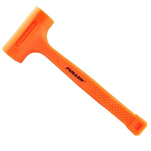 Maillet anti-rebond Fuller d'Innovak, 16 oz, orange