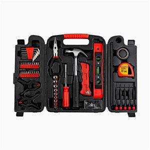 Trousse d'outils pour propriétaires Innovak Fuller, 134 pièces