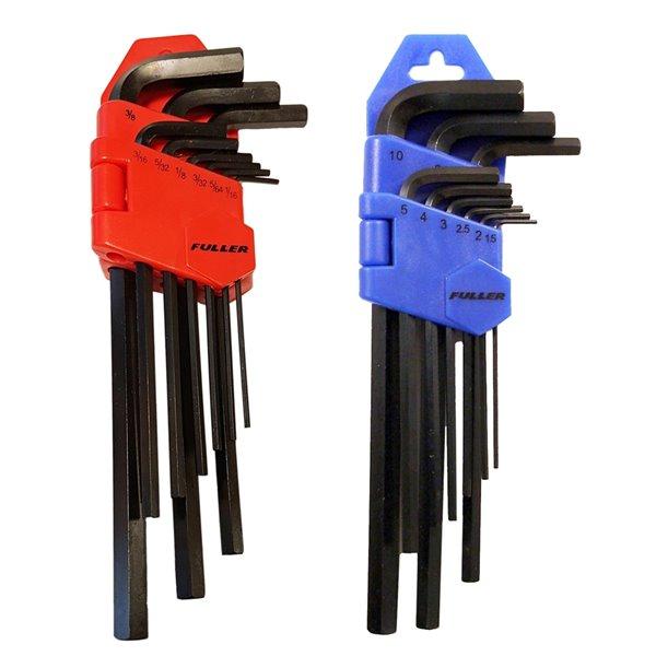 Innovak Fuller Pro SAE and Metric Hex Key Set - 22 pc