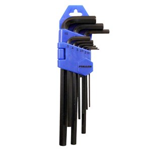 Innovak Fuller Long-Arm Metric Hex Key Set with Holder - 9 pc