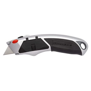 Innovak Fuller XL Utility Knife with Non-Slip Grip - Carbon Steel - 2.95-in