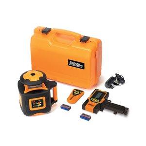 Johnson Level Electronic Self-Leveling Horizontal Exterior Rotary Laser Kit