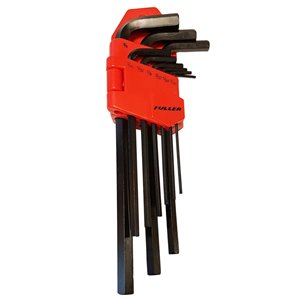 Innovak Fuller Long-Arm SAE Hex Key Set with Holder - 9 pc