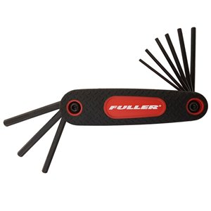Innovak Fuller Folding SAE Hex Key Set - 9 pc