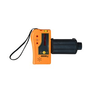 Johnson Level One-Sided Laser Detector with Clamp for Rotating Lasers - Red Beam