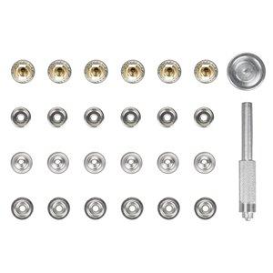 Trousse de boutons-pression Fuller Precision d'Innovak, 6 boutons