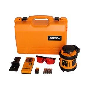 Johnson Level 40-6515 Self-Leveling Rotary Laser Kit
