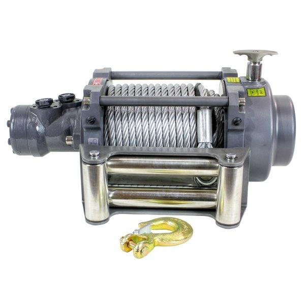 DK2 Warrior Hydraulic Winch - 15,000-lb