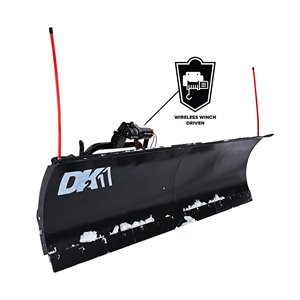 DK2  Elite Snow Plow Kit - T-Frame - 88-in x 26-in