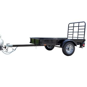 DK2 Multi-Purpose Utility Trailer Kit - 4-ft x 6-ft - Black