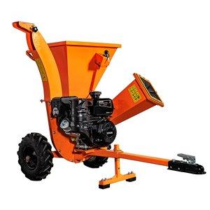 DK2 Power Cyclonic Gas Chipper Shredder - 7 HP Motor