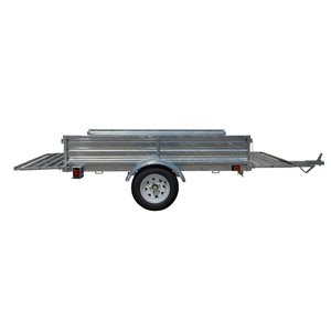 DK2 Multi-Purpose Utility Trailer Kit - 5-ft x 7-ft - Galvanized Steel