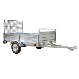 DK2 Multi-Purpose Utility Trailer Kit with Drive-Up Gate - 5-ft x 7-ft - Steel