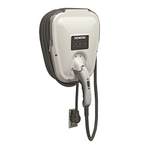 Siemens VersiCharge Electric Vehicle Charger - Indoor/Outdoor - 30 A