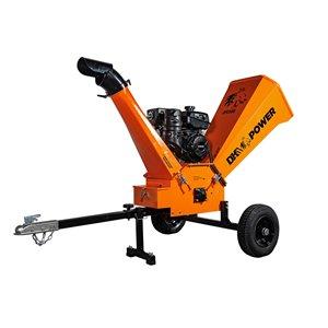 DK2 Power Commercial Gas Wood Chipper - 14 HP Motor - 2,400 RPM