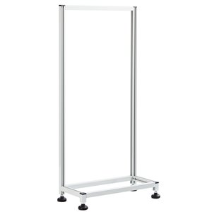 Ideal Security Tilt Bins Organizer Self Standing Stand - Single-Sided - 46-in