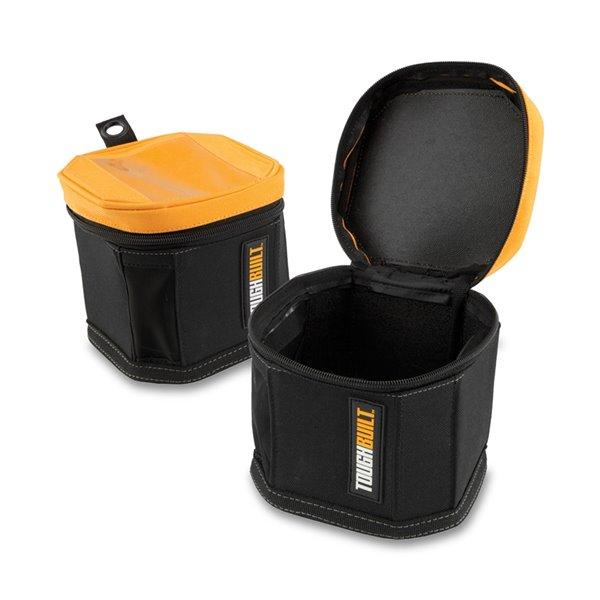 TOUGHBUILT Cube Softboxes - Polyester - Black - 2/Pk