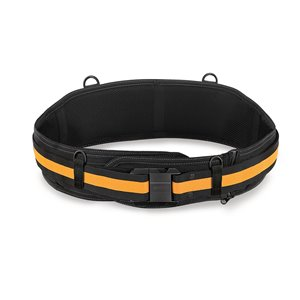 TOUGHBUILT Padded Belt - Heavy-Duty Buckle - 32-in to 48-in - Black