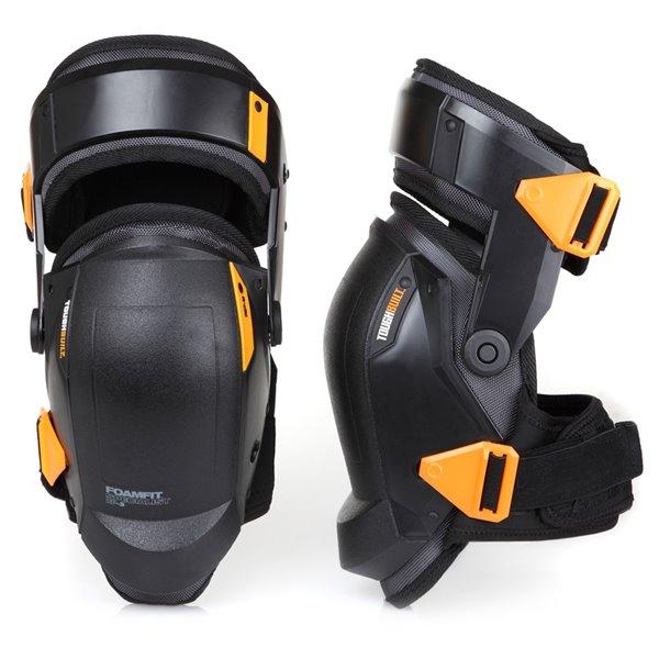 TOUGHBUILT FoamFit Specialist Thigh-Support Stabilization Knee Pads - Black