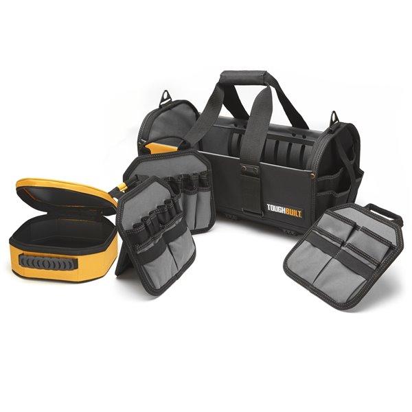 TOUGHBUILT Modular Tote - 18-in - Black