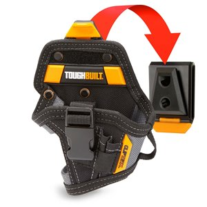 TOUGHBUILT Compact Drill Holster - Black