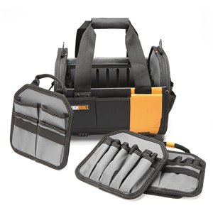 TOUGHBUILT Modular Tote - 12-in - Black