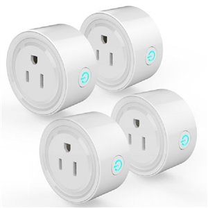 Wexstar Smart Plug Wi-Fi - White - 4 pcs