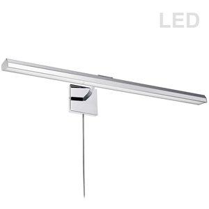 Lampe pour tableau Leonardo de Dainolite, 40 Watts, 32 po, chrome poli