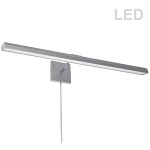 Lampe pour tableau Leonardo de Dainolite, 40 Watts, 32 po, chrome satiné