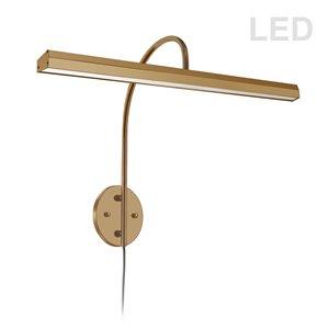 Lampe pour tableau Display Exhibit de Dainolite, 30 Watts, 24,13 po, laiton vieilli