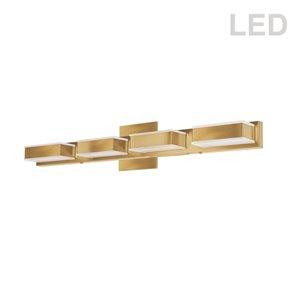 Dainolite Signature Vanity Light - 4-Light - 26.7-in - Gold