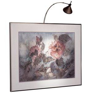 Lampe pour tableau Display Light de Dainolite, 3 po, bronze brossé à l'huile