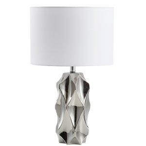 Lampe de table Signature de Dainolite, 1 lumière, 24,5 po, chrome poli