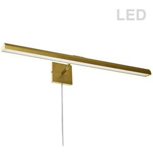 Lampe pour tableau Leonardo de Dainolite, 40 Watts, 32 po, laiton vieilli