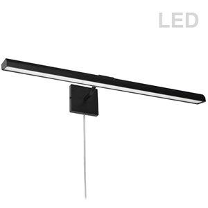 Lampe pour tableau Leonardo de Dainolite, 40 Watts, 32 po, noir mat