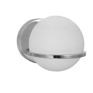 Dainolite Sofia Wall Sconce - 1-Light - 6.1-in - Polished Chrome