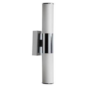 Dainolite Signature Wall Sconce - 2-Light - 4.5-in - Polished Chrome