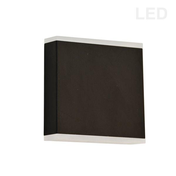 Dainolite Emery Wall Sconce - 2-Light - 4.88-in - Matte Black