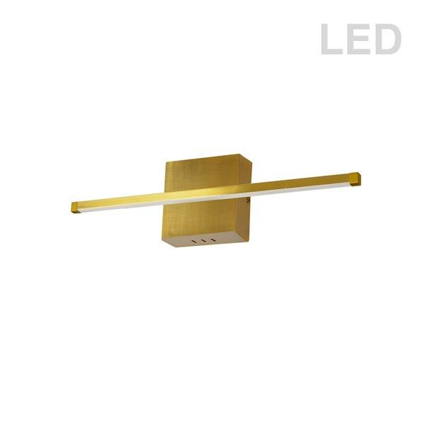 Dainolite Array Wall Sconce - 1-Light - 24.5-in - Aged Brass