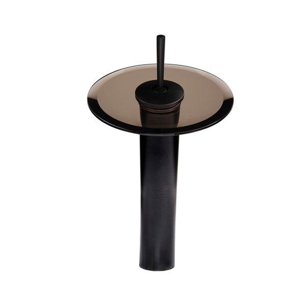 Novatto Falls Single Lever Handle Faucet Set - 11.5-in - Oil Rubbed Bronze