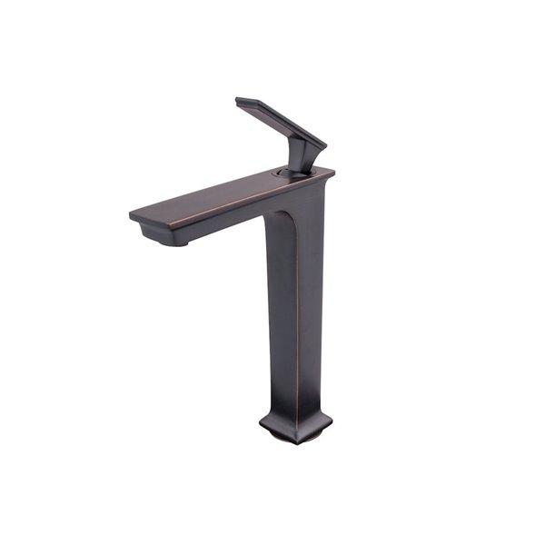 Novatto Eva Single Lever Handle Faucet - 11.25-in - Oil Rubbed Bronze