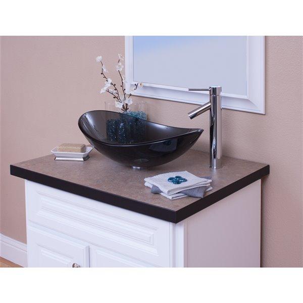 Novatto Topia Single Lever Handle Faucet - 12.5-in - Chrome