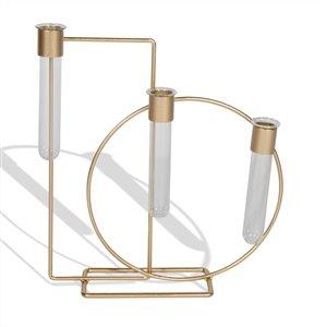 Gild Design House Watson Decorative Table Vase - Gold - Set of 3
