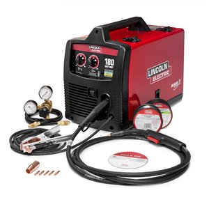 Linclon Electric Easy-MIG 180 Wire-Feed Welder - 230 V - 15-in x 20-in x 16-in
