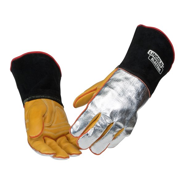Lincoln Electric TIG Welding Gloves - Large - Silver