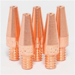 Points de contact Magnum Pro de Lincoln Electric, 0,030 po, cuivre, 5/pqt