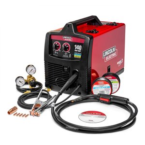 Linclon Electric Easy-MIG 140 Wire-Feed Welder - 120 V - 15-in x 20-in x 16-in