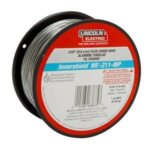 Fil fourré pour soudage Lincoln Electric, 0,030 po, 1 lb