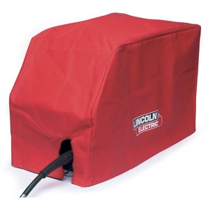 Lincoln Electric Welder Cover - Canvas - Red