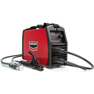 Lincoln Electric Century Inverter ARC 120 Stick Welder - 10-ft - 120 V